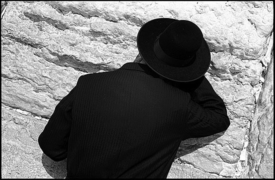 auteur: Patrick Tombelle titre: At the Wailing Wall, Jerusalem