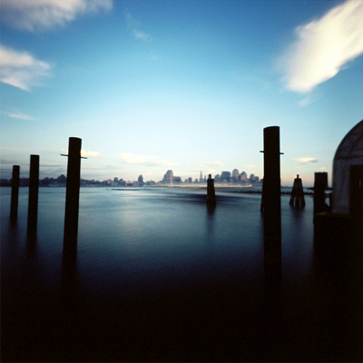 author: john strazza title: blue waters - hudson - hoboken - 03