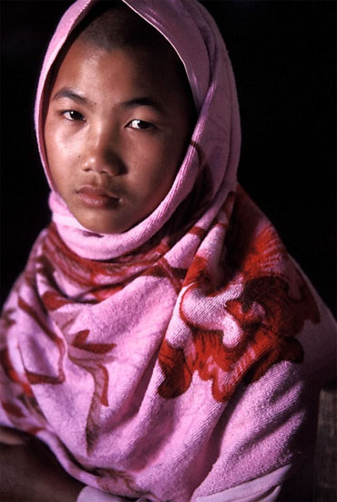 author: Chad Meacham title: Burmese Nun