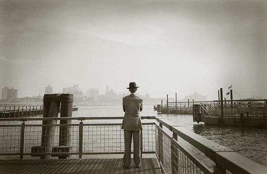 author: john strazza title: man with glorious hat - nyc 03